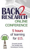 THAGS econference:  Back to Research